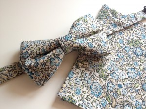Bow ties and pocket squares